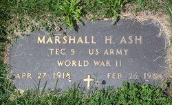 Marshall Hays Ash