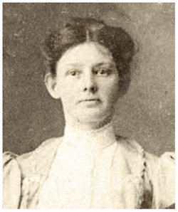 Martha Agnes Mattie <i>Gilliland</i> Jones