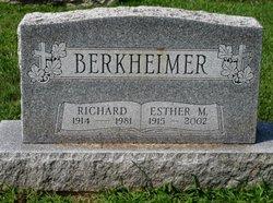 Esther M. <i>Spangler</i> Berkheimer