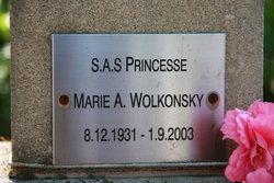 Marie A. Wolkonsky