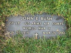 Lieut John E Bush