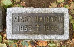 Mary A. <i>Haas</i> Haibach