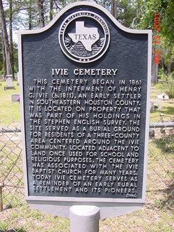 Ivie Cemetery