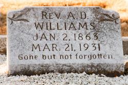 Rev Adam Daniel Williams