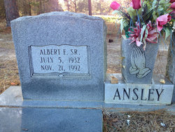 Albert E Ansley