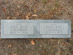 Edna Virginia <i>Wier</i> Cochran