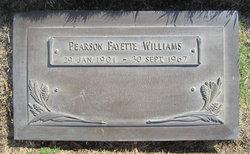 Pearson Fayette Fay Williams