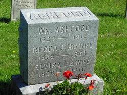Rhoda Jane <i>Mitchell</i> Ashford