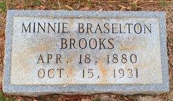 Minnie S <i>Braselton</i> Brooks