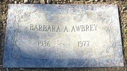Barbara A Awbrey