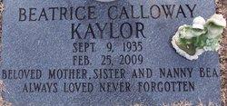 Beatrice <i>Calloway</i> Kaylor