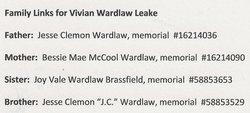 Vivian <i>Wardlaw</i> Leake