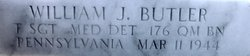 TSgt William J Butler