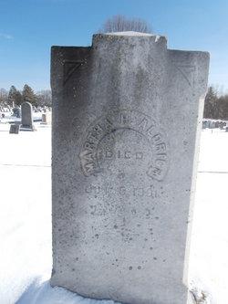 Martha <i>Hulbert</i> Aldrich