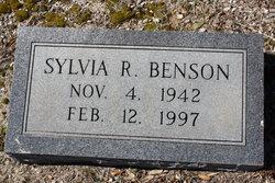 Sylvia <i>Roberts</i> Benson