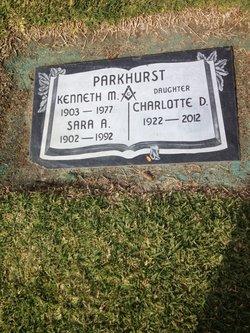 Charlotte D Parkhurst