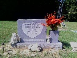 Myrtle <i>Robinson</i> Boyette