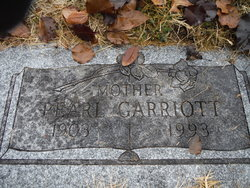 Gladys Pearl <i>Babcock</i> Garriott