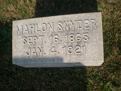 Mahlon Snyder