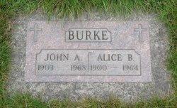 Alice B Burke