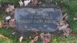 Shirley Elaine McCarthy