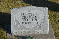 Frances L. <i>Smith</i> Chapman