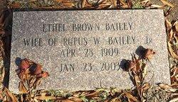 Ethel <i>Brown</i> Bailey