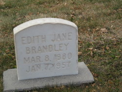Edith Jane Brandley <i>Robinson</i> Bohling