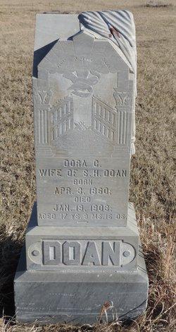 Dora C <i>Evans</i> Doan