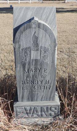 Mary Elizabeth <i>Thompson</i> Evans
