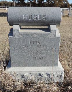 Etta <i>Sterner</i> Moses