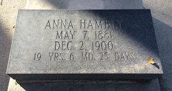 Anna Henrietta Hambey