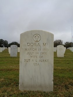 Dora M <i>Bowling</i> Burke