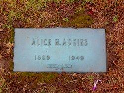Alice M Adkins