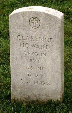 Pvt Clarence Washington Howard