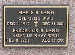 Frederick R Land