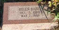 Helen <i>Gobel</i> Bahe