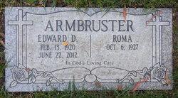 Edward Daniel Armbruster