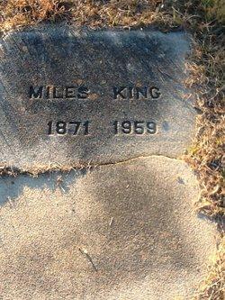 Miles V. King