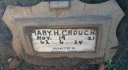 Mary Hodge <i>Hambey</i> Crouch