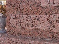 Zelma <i>McCraw</i> Hill