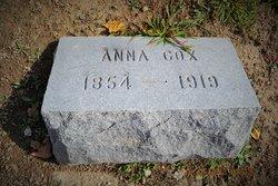 Anna <i>McCarty</i> Cox