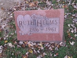 Thelma Ruth <i>Daffron</i> Helms