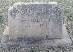 Sarah Elizabeth <i>McFadden</i> Butler