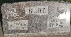 Agnes L <i>Jenkins</i> Burt