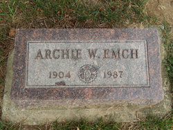Archibald W Archie Emch