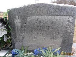 Roosevelt Adams