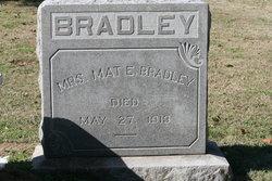 Mat E Bradley