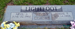 Virdie Ione <i>Pate</i> Lightfoot
