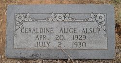 Geraldine Alice Alsup